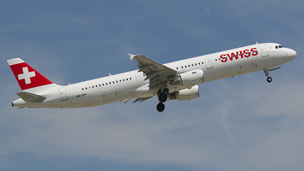Swiss announced flights to Geneva