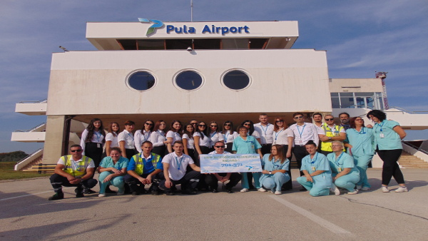 2018. Historical Record Breaking Year for Pula Airport